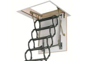 Металлическая термоизоляционная чердачная лестница LST (Fakro)