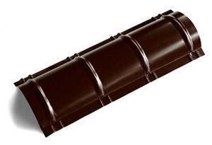 Круглый конек, глянец, толщина 0,45 мм